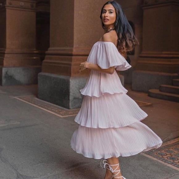 886cb0ef9 Lulu's Dresses | Gala Ready Off The Shoulder White Dress New Lulus ...